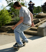 Learn how to 50-50 Grind with Skateboard Trick Tips