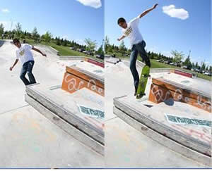 Learn how to Backslide with Skateboard Trick Tips